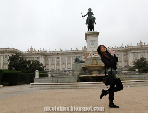 nicolekiss and palace of madrid