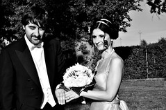 ------ (Silvia_Isabel) Tags: flowers wedding boy blackandwhite woman man tree male love girl smile female happy photography hands couple amor marriage rings fancy amore blackandwhitephotography