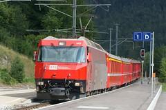 rhb 645 001e (ecografista) Tags: svizzera rhb tiefencastel grigioni ge44iii ferrovieretiche
