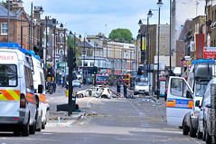 Tottenham High Road - the aftermath by belkus