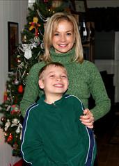 Amy & Alex Xmas 2010 (Darren LoPrinzi) Tags: christmas portrait woman cute alex beautiful women amy