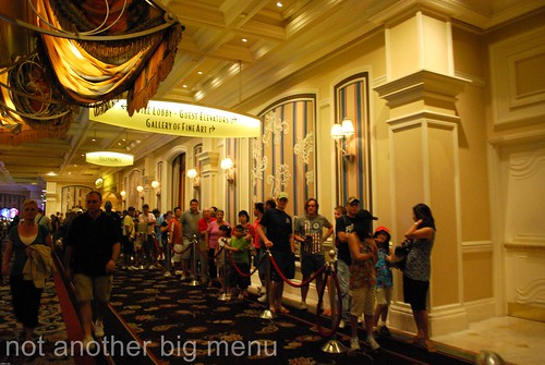 Las Vegas, Nevada - Queue for Bellagio buffet