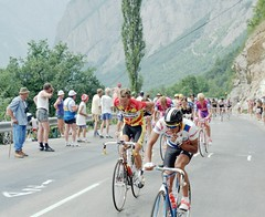 Tour de France 1991 (Steve Selwood) Tags: bourgdoisans tourdefrance1991 lapledhuez