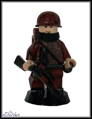 Lego ww2 -Camo Sniper- (=DoNe=) Tags: by for paint hand lego painted wwii camo ww2 minifigs custom done job printed weapons brickarms legosniper legoww2 legoww2sniper mifigure