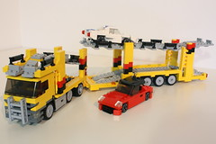 Mercedes Actros Car Transporter