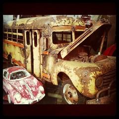 El tiempo... (blackferien) Tags: mxico square mexico hefe juguetes ciudaddemxico carritos chilangolandia museodeljuguete iphoneography