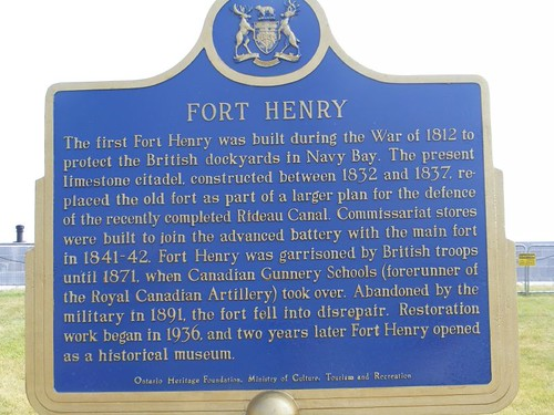 Purpose of Fort Henry
