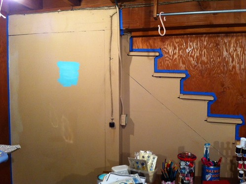 Craft room in progress - painting