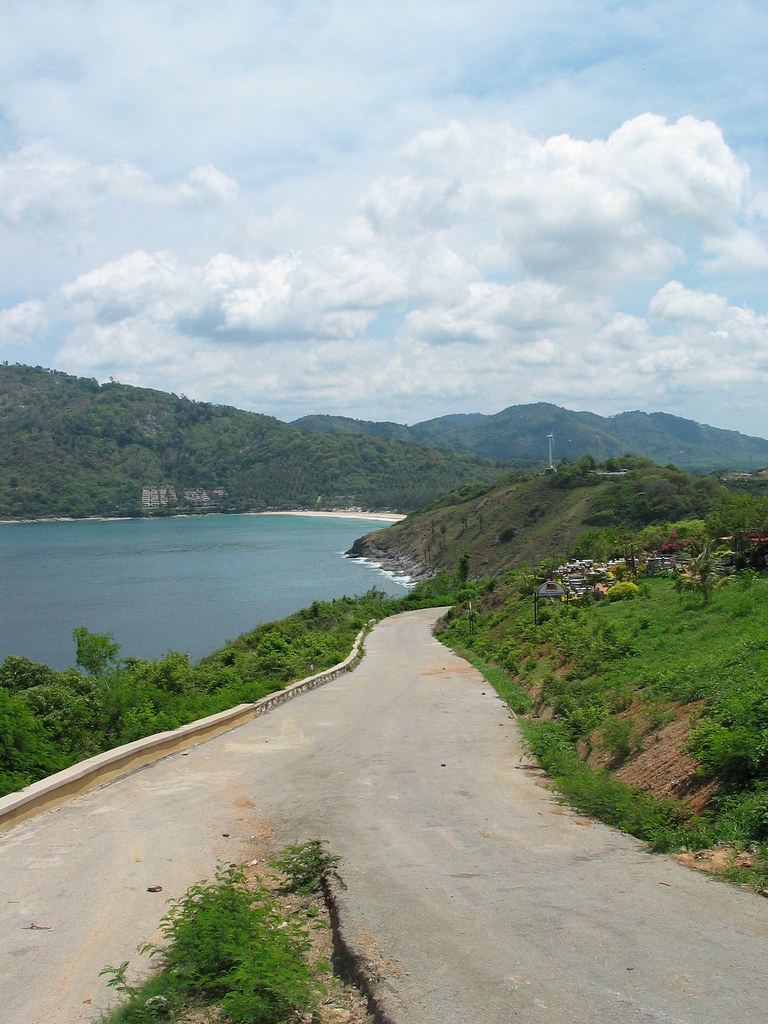 On the way to Nai Harn Beach from Promthep Cape, Phuket