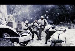 RB-1973 (Robert Bridgens) Tags: winter snow death ss explosion ww2 grenade airborne reenactment sherman panzer execution ksk bastogne bandofbrothers warpeace 50cal mg42 stug k98 mg34 stahlkrieger beltring2011