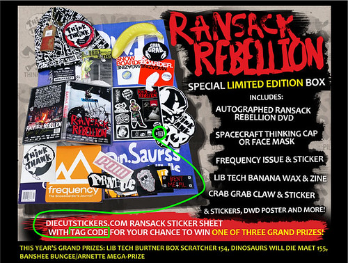 Ransack Rebellion Special Limited Edtion Boxes by diecutstickers.com