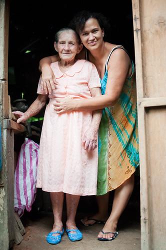 Doña Chela y Mamá