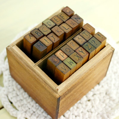 Neat Writing Rubber Stamps