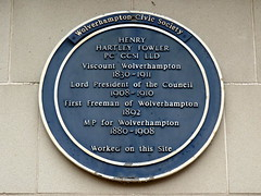 Photo of Henry Hartley Fowler blue plaque