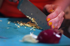 Chopped Garlic (donireewalker) Tags: california sandiego choppedgarlic cmdwtv