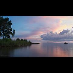 DSC_6027 (Stijn Willekens) Tags: sunset lake sweden vnern d700