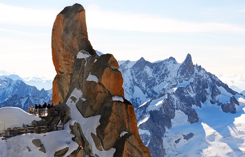 From Chamonix to Courmayer - Aiguille du Midi 23