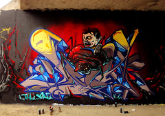 INCA ___ lOOkin_4_more_cRystAlS (SRCARAMELOS) Tags: new red inca graffiti spider crystal alicante wc sez eds araa th nuevo cristales risas triangulos novedad 2k11 johe