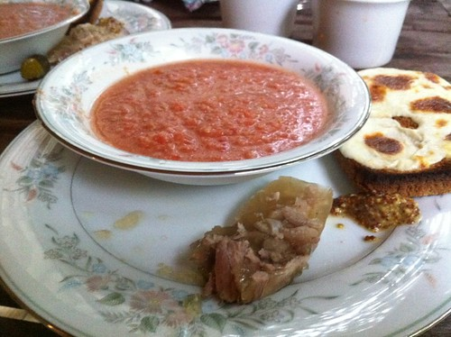 Head Cheese and Gazpacho