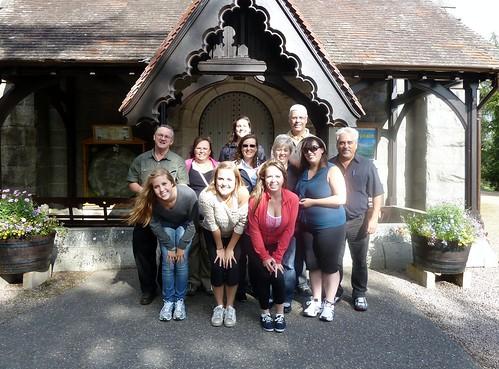 Tour Group at Crathie Church