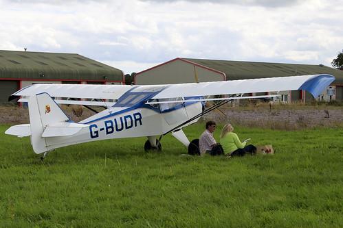 G-BUDR- Denney Kitfox MK3_  Dunkswell