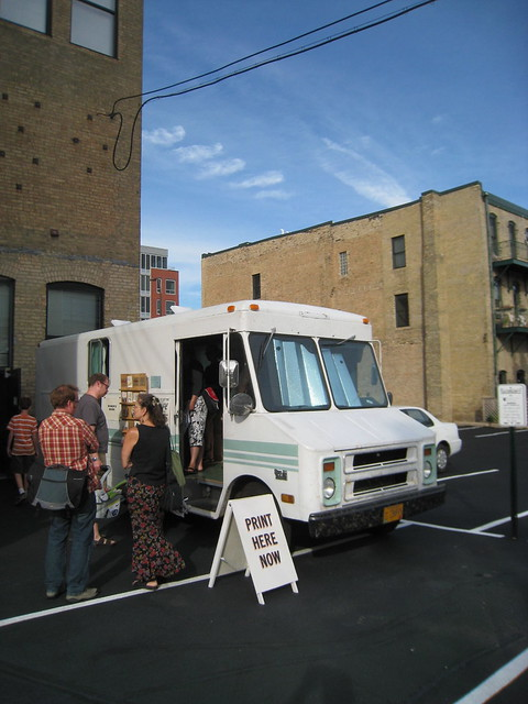 The type truck at MCBA