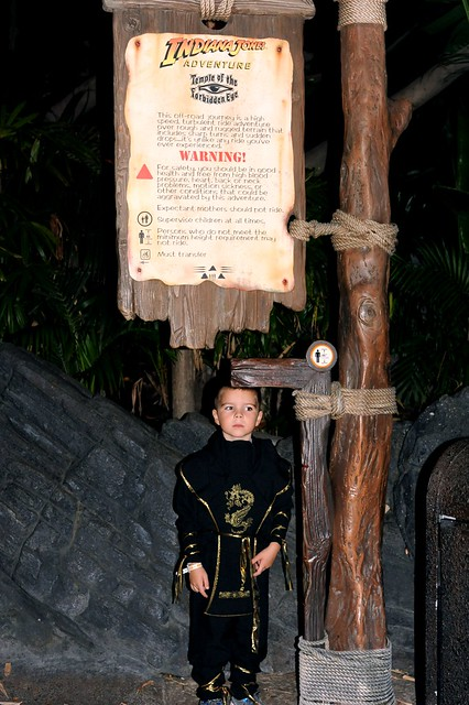 Tall Enough for Indiana Jones at Disneyland