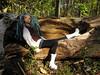 219 (Alrunia) Tags: nature dreadlocks forest outdoors doll handmade ooak barbie yarn mohair mackie hybrid dreads headswap fashiondoll mattel fashionistas reroot rebody restyle fashionfever 16thscale playscale bodyswap headmold makeupchic yarnreroot barbiedreadlocks barbiedreads