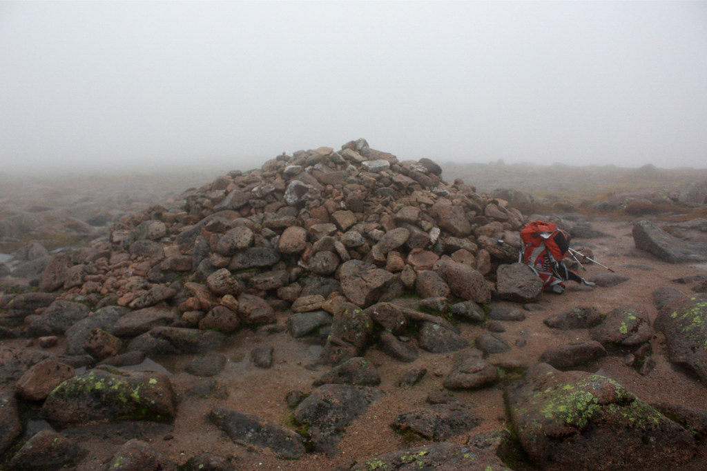 Braeriach summit cairn