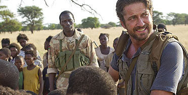 "Gerard Butler as Sam Childers in ""Movie Gun Preacher"""