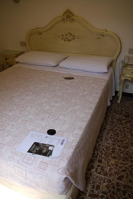 還算舒服滿大的床