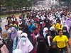 Marching towards Stadium Merdeka by freemalaysiatoday