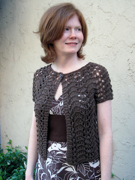 Liesl Sweater - My First Knitted Sweater!