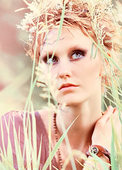 Snsra (Egor N) Tags: wood portrait color tree classic girl grass 50mm nikon nikkor tamron 150mm d90 classicportrait kaleinar sansara nikond90 egorn