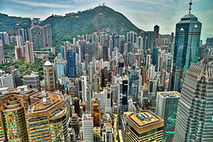 Growing Crystals of Hong Kong (Sprengben [why not get a friend]) Tags: world china city roof wedding light summer sky music newyork paris art japan skyline clouds skyscraper movie observation hongkong tokyo bay harbor airport amazing rainbow nikon energy asia ship artistic time gorgeous awesome watch einstein hamburg elevator style warp disney symmetry divine international stunning physics metropolis charming macau foreign fabulous eternity receptiondesk dach hdr linear englandlondon warpspeed engaging travelphotography d90 photomatix travellight d3s tronlegacy sprengbenurban
