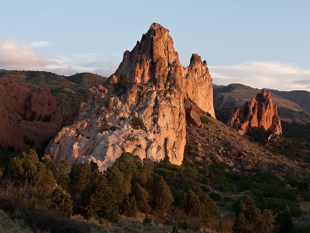 Morning Light In Garden Of The Gods