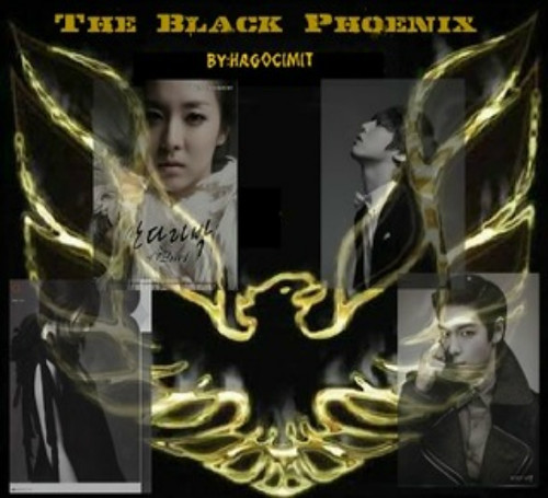 (10-17) The Black Phoenix by aerenea23