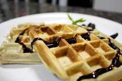 Waffles (FaruSantos) Tags: food macro chocolate waffles