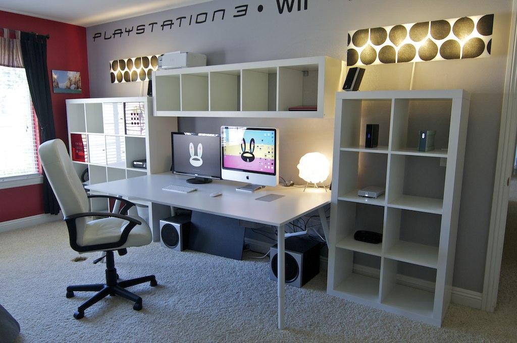 Desk Setup | July 2011 | All IKEA