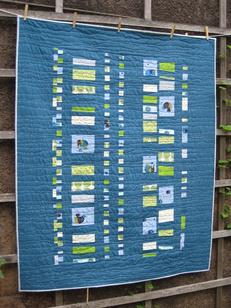 Snippets Coin Quilt