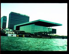 het ij, amsterdam (douweplukkel) Tags: amsterdam pen harbour district olympus mimoa stadsarchief ee2 olympuspenee2olympus penhalfframehalfframehalf framecrossprocessingxprofilm35mmanalogijhet ijthe ijamsterdamwesterdokeastern