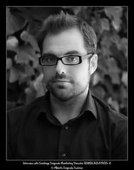 Interview with Santiago Sagrado Marketing Director (Alberto Sagrado Surez) Tags: portrait verde green marketing nik