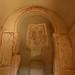 Pinturas antigas das igrejas dentro das pedras