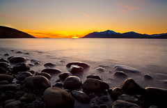 Sunset at Hjalteyri (Vlundur Jnsson) Tags: ocean longexposure sunset sea sky sun water rock stone landscape mar is iceland aqua europa europe h2o land vista sland sjr eyjafjrur vatn sl himinn haf slarlag landslag kaldbakur hjalteyri smoothwater slsetur tsni himna sr slar grjt northeasticeland himins vtn hreyfing evrpa norurlandeystra norausturland tsn sn frni langurlsingartmi