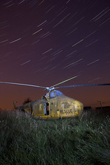 Shooting Star ([Nocturne]) Tags: longexposure nightphotography summer sky lightpainting abandoned night stars photo nocturne fireball raf startrails hele shootingstar earthandspace noctography wwwnoctographycouk competition:astrophoto=2012