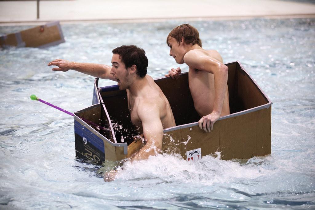 CardBoard Boat Racing