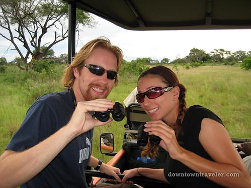 Jeep safari, Okavango Delta, Botswana