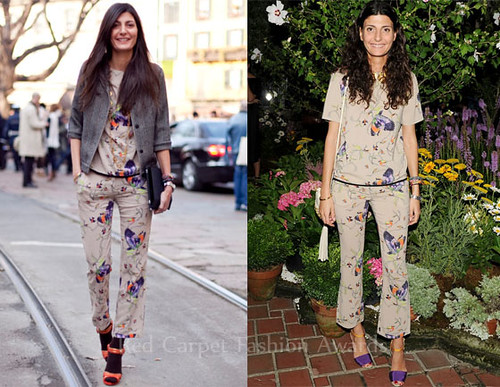 Giovanna-Battaglia-Loves-Her-No_21-Printed-Blouse-Cropped-Pants