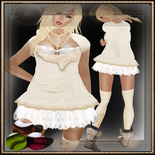 A&A Fashion Mila Dress with Socks