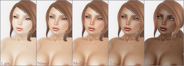 -Glam Affair- Amelie Skin Tones Light -Dark - Clean